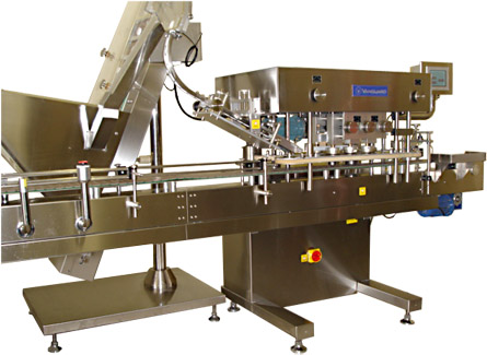Vsg 200 In Line Capper Vanguard Pharmaceutical Machinery